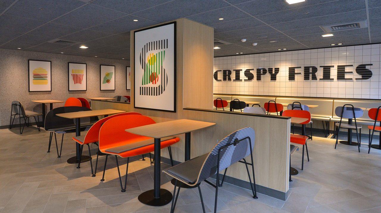 35年老店換新裝  台灣麥當勞第一家幾何概念餐廳食尚迎賓