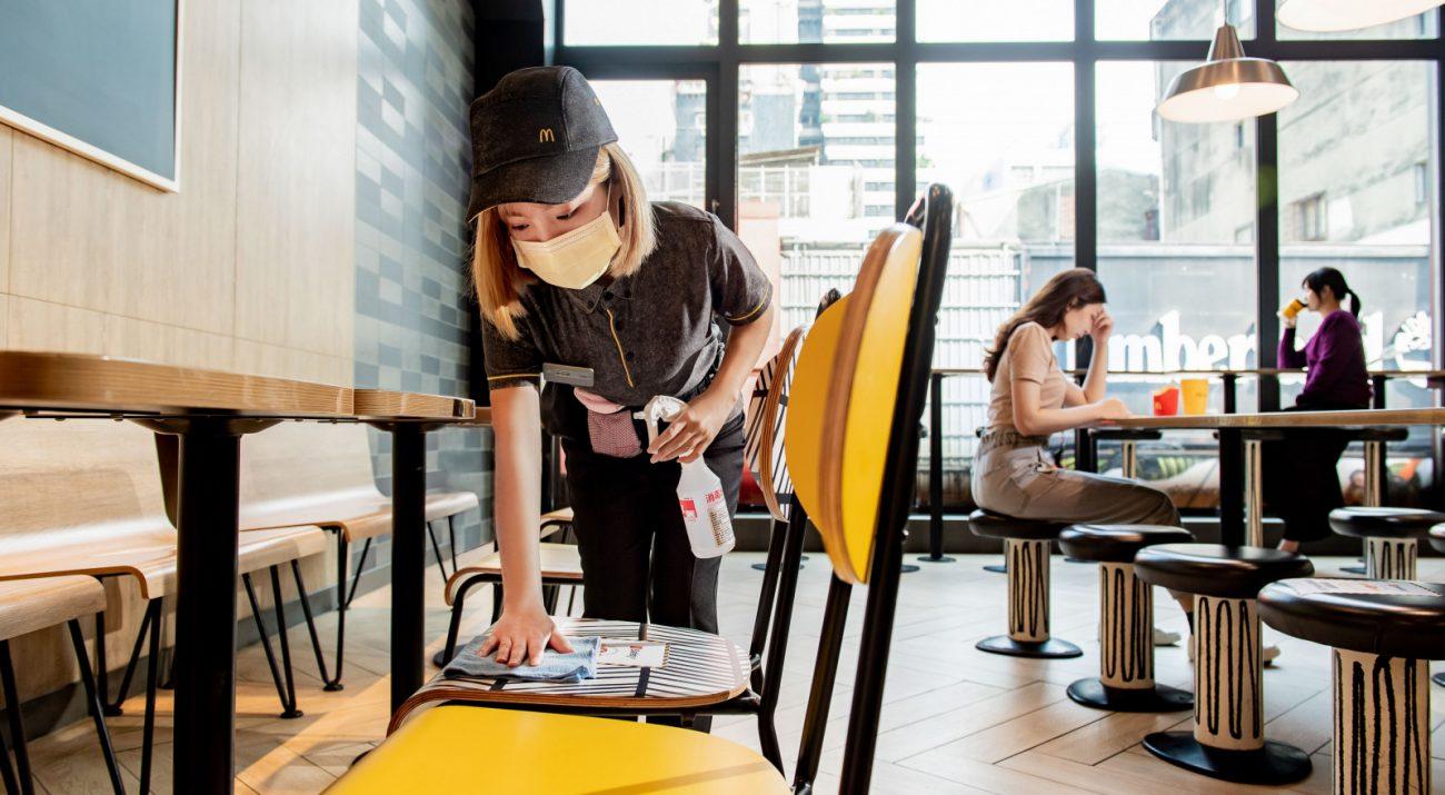 麥當勞獨門教戰手冊 讓每位員工都成為清潔專家
